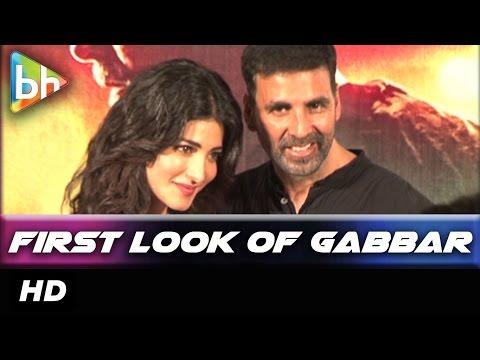 Akshay Kumar | Shruti Haasan At First Look Promo Launch Of 'Gabbar Is Back'