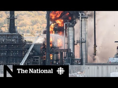 Living near Canada's biggest oil refinery