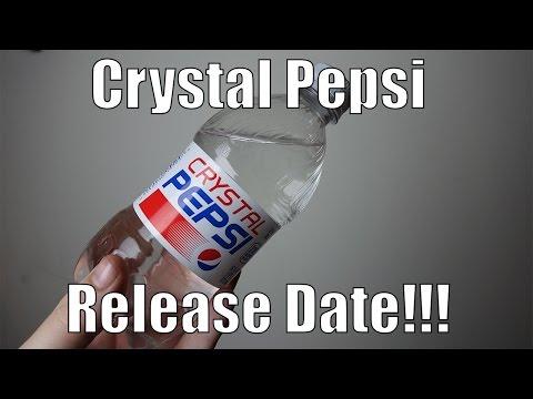 Crystal pepsi release date