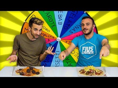🍕 PIZZA CHALLENGE con la RUOTA DEL MISTERO! 😱 vs FIUS GAMER!