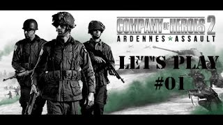 Company of Heroes 2 - Ardennes Assault Walkthrough Part 1 PC Max Settings