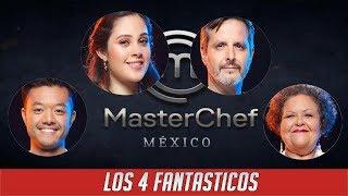 YA SE GRABÓ LA SEMIFINAL DE MASTER CHEF MÉXICO Y ELLOS 4 SON LOS SEMIFINALISTAS