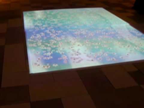 Illuminated floor mat youtube for Illuminated floor