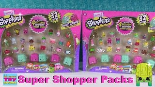 Shopkins Super Shopper Season 5 #1 Exclusive Figures Pack Opening Toy Review | PSToyReviews