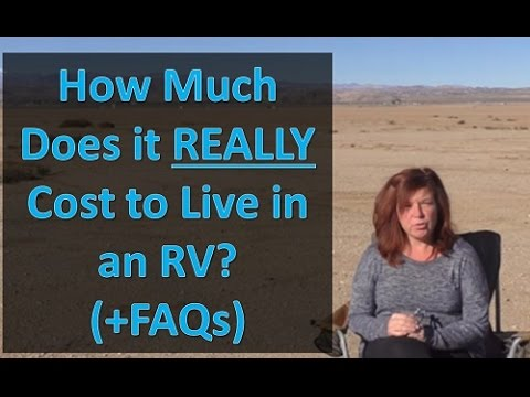 Rv Living How Much It Really Costs To Live In An Rv And Faqs