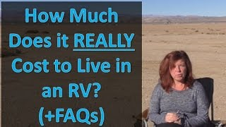 How Much It REALLY Costs to Live in an RV  (and FAQs answered)