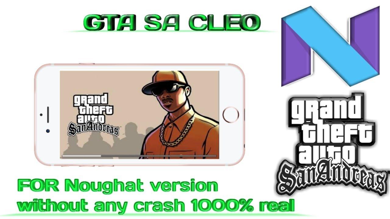 download cleo gta sa android nougat