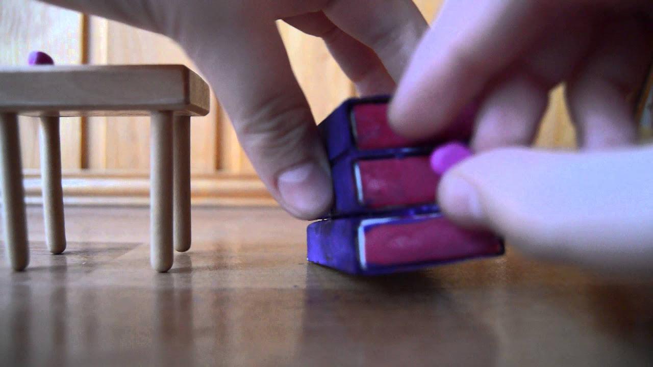 мебель для кукольного домика из газетных трубочек пошаговая инструкция с фото