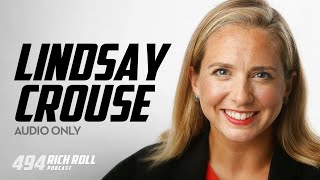 Lindsay Crouse Is Changing The Game For Women's Sports | Rich Roll Podcast