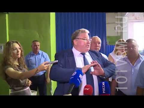 В пятницу Владимир Волков посетил Инсар и Кадошкино
