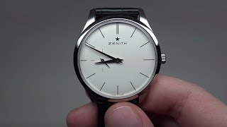 Zenith Heritage Ultra Thin Men's Watch Review Model: 03-2010-650-38-C493