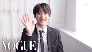 73 Questions With Jungkook | Vogue Parody