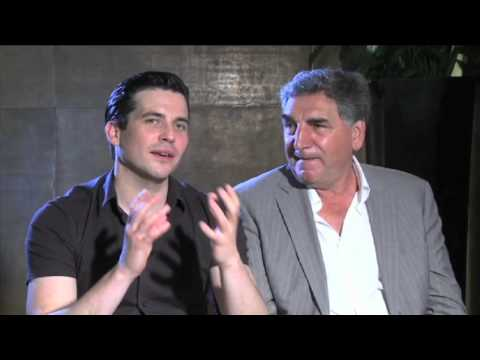 Downton Abbey : Rob JamesCollier and Jim Carter on working with Shirley MacLaine