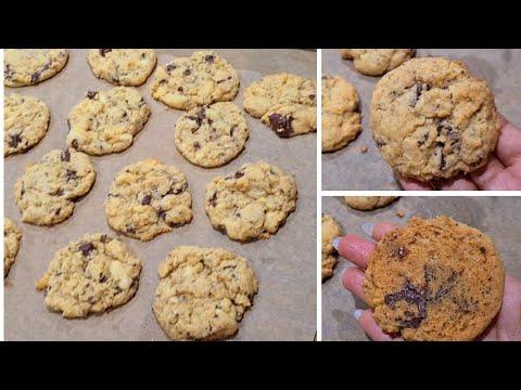 recette-cookies-amÉricain-🍪-aux-petites-de-chocolat-/-ultra-moelleux-et-100%-rÉussi
