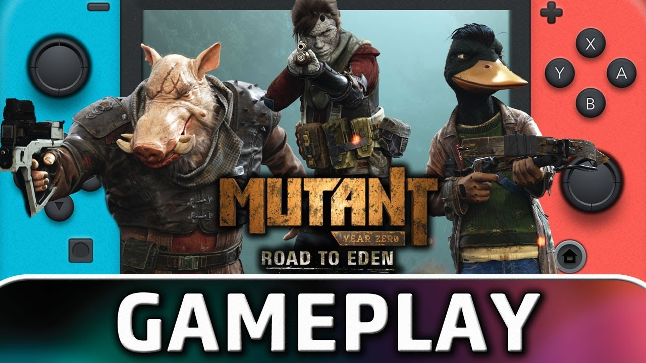 Mutant Year Zero: Road to Eden | First 15 Minutes on Nintendo Switch