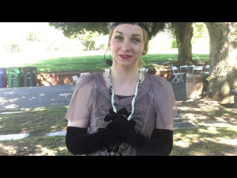 Living History Tour at Santa Monica's Woodlawn Cemetery