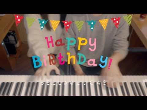 Happy Birthday To You - Bella&Lucas 4Hands Piano