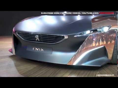Peugeot Onyx: New Concept Car @ 2012 Paris Motor Show