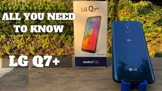 LG Q7+ UNBOXING / REVIEW & GIVEAWAY!!