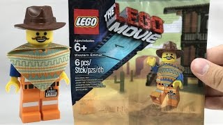 Rare LEGO Movie Western Emmet exclusive polybag review!