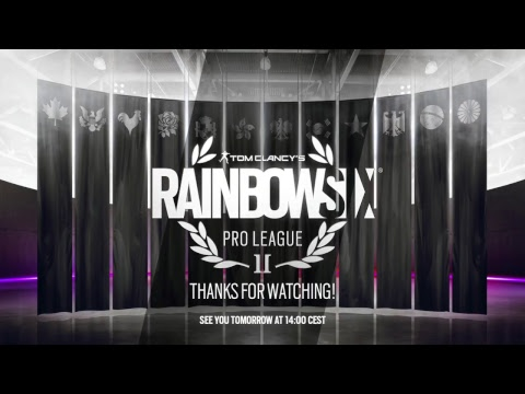 Rainbow Six Pro League - Finals - Day One