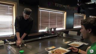 Hibachi Chef Steve at Volcano