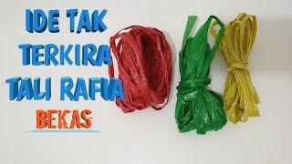 Ide Tak Terkira dari Tali Rafia Bekas yang Menakjubkan