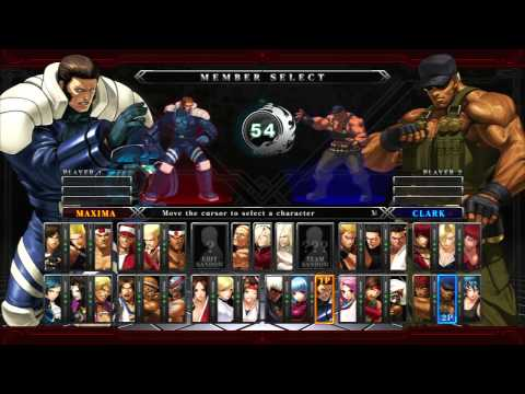 The King of Fighters XIII Online Match me vs K-Dragoon