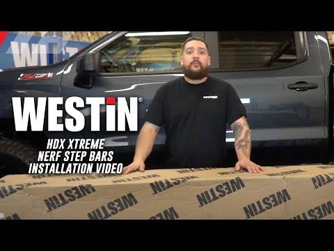 Westin HDX Xtreme Nerf Step Bar Installation Video