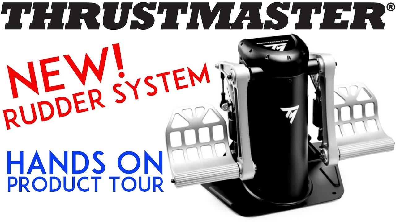#thrustmaster NEW TPR rudder pedals - Exclusive hands on look