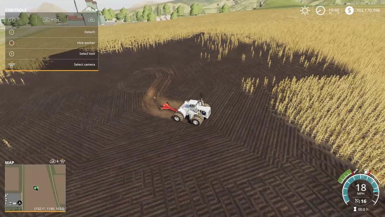 big bud/100m plow overview fs19