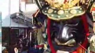 佐賀県唐津市で行われ る唐津神社の秋祭り・ 唐津くんち。2007年11月3日...