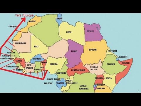 Maroc Algérie : Le gaz africain arrive. المغرب الجزائر: وصول الغاز الأفريقي