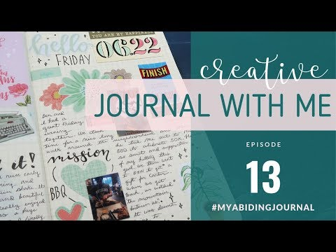 CREATIVE JOURNALING SESSION | Journal With Me 13