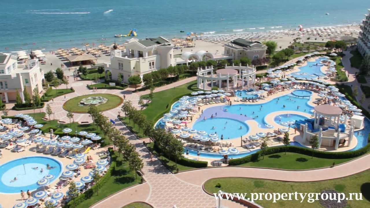 Sunset resort pomorie bulgaria youtube for Sunset lodge