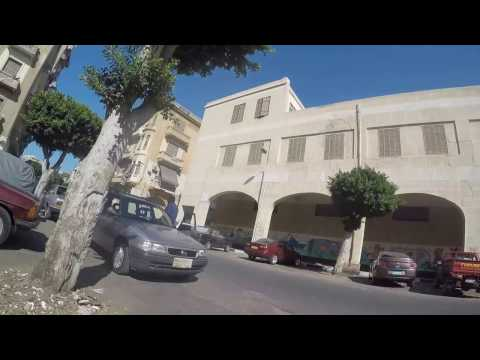 Port Said City -heritage bicycle tour 2016 GoPro