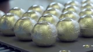 100. rocznica odzyskania przez Polskę niepodległości – moneta srebrna w kształcie kuli