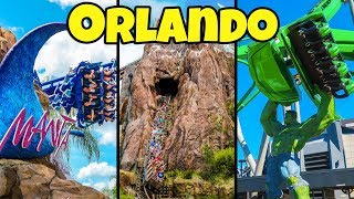 Top 10 Fastest Rides & Roller Coasters in Orlando - Disney, Universal & SeaWorld