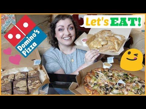 Dominos Pizza | MUKBANG (Eating Show)