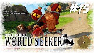 Lets Play One Piece World Seeker #15 / Franky und die Marine Waffen / Gameplay (PS4 Deutsch German)