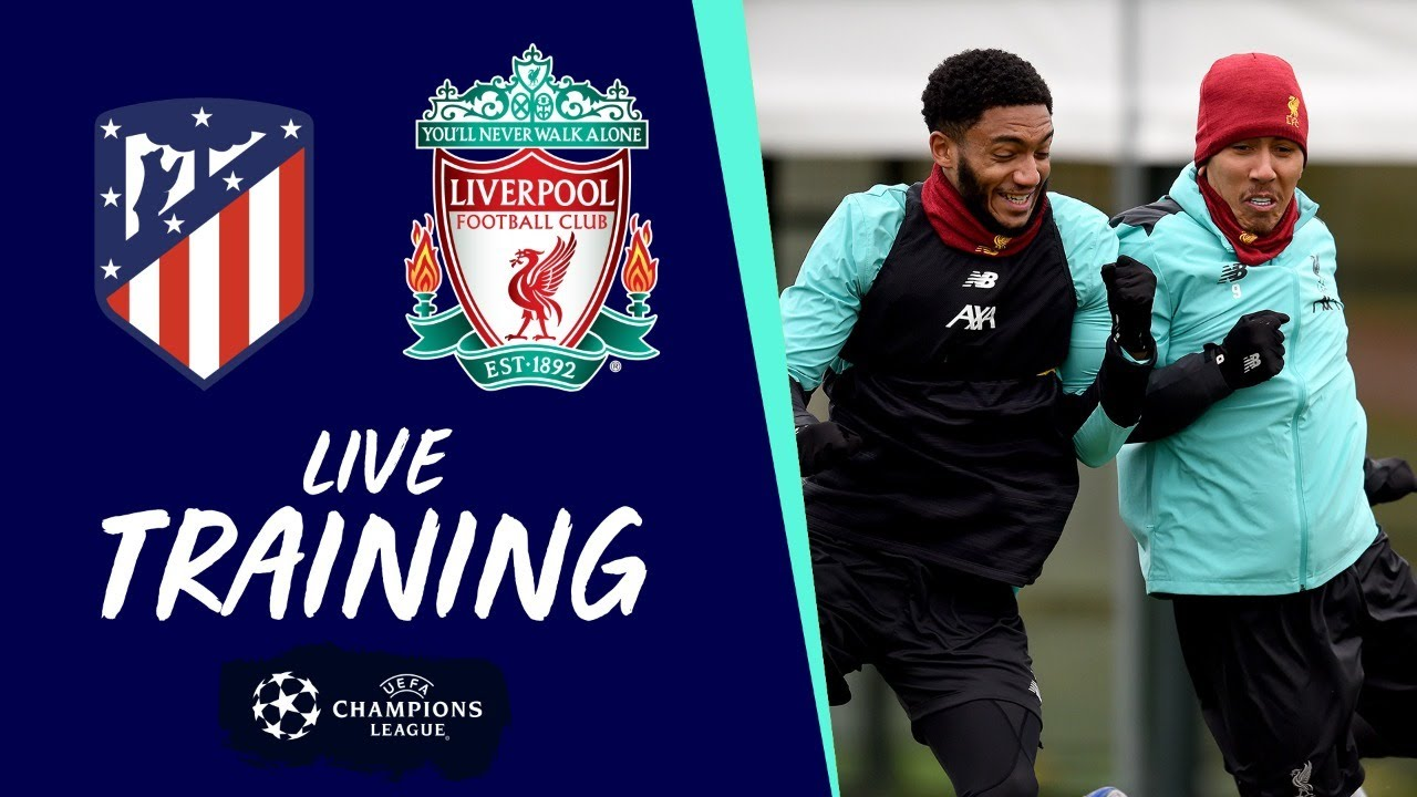Liverpool's pre-Champions League training | Atletico Madrid