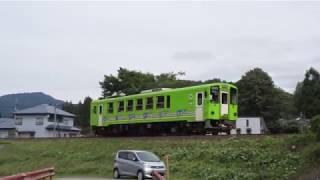 秋田内陸縦貫鉄道の急行「もりよし2号」