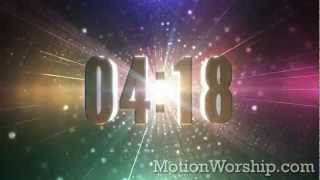 Kaleidoscopic Particles Techno / Dub Countdown by Motion Worship