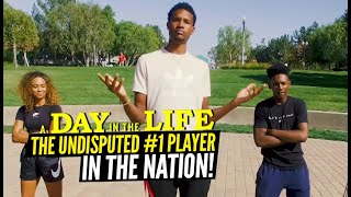 Day In The Life w/ The UNDISPUTED #1 Ranked Player In The Country! Evan Mobley Is Living The Life!