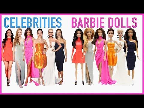 Play Doh Barbie  Katy Perry Selena Gomez Camila Cabello Sophie Turner Misty Copeland Zendaya