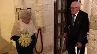 Giovanni e Cecilia, si sposano da nonni