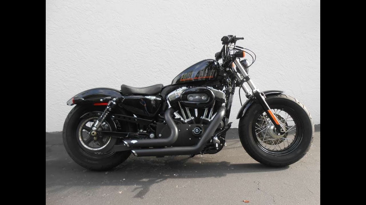 2012 harley davidson forty eight 1200 sportster ride video gulf coast motorcycles youtube. Black Bedroom Furniture Sets. Home Design Ideas
