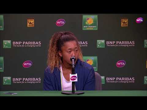 2018 Indian Wells Day 7   Naomi Osaka Press Conference