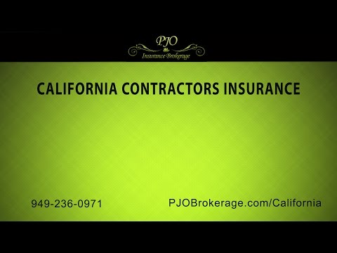 California Contractors Insurance by PJO Insurance Brokerage