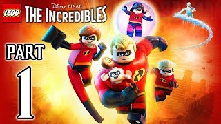 LEGO The Incredibles Walkthrough PART 1 (PS4 Pro) No Commentary @ 1080p HD ✔